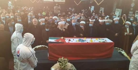 بيروت تودع المناضل اللبناني العربي أنيس النقاش في تشييع مهيب