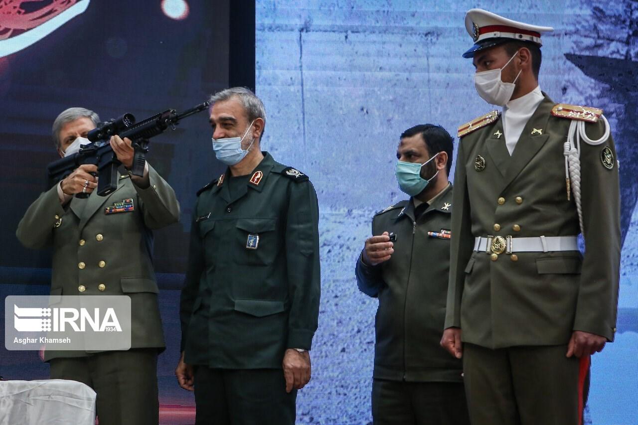 إزاحة الستار عن بندقية مصاف الهجومية الإيرانية